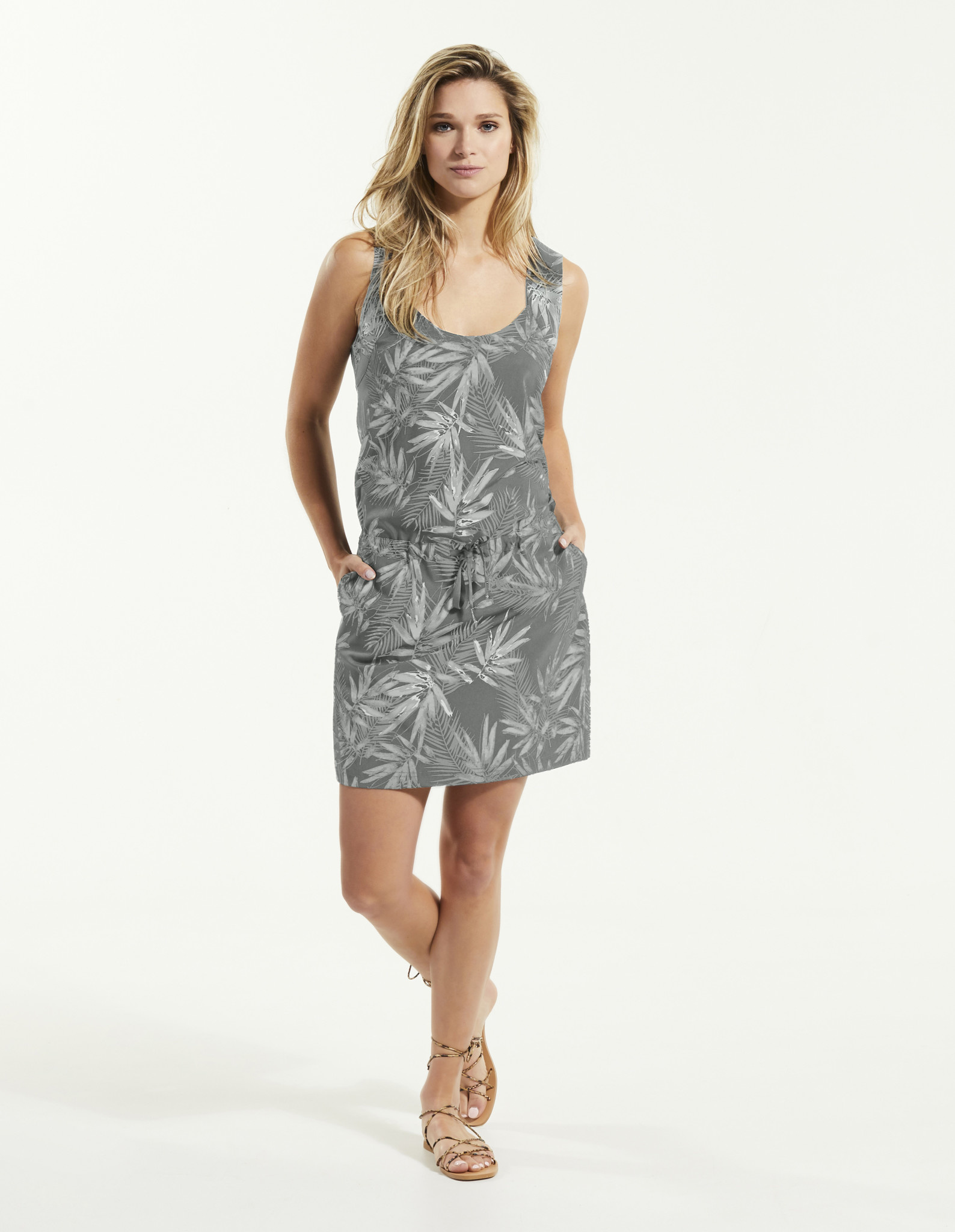 Fig Jul Dress - Acacai Jungle