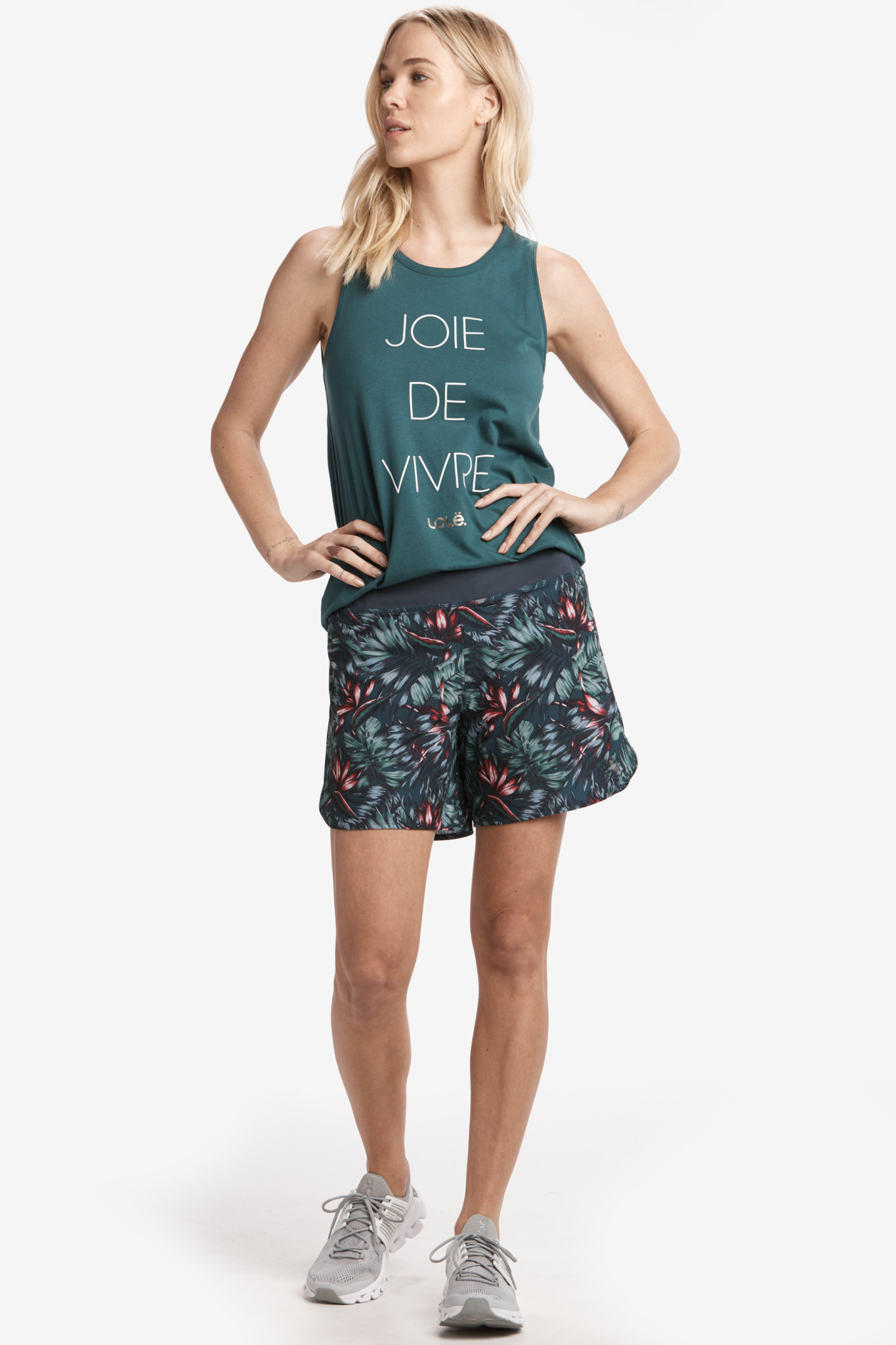 Lole Running Shorts - Fiji Rainforest