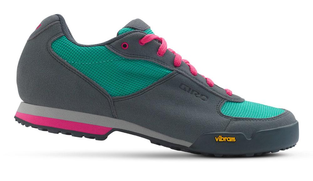 Giro W Petra - Grey/Turquoise/Pink