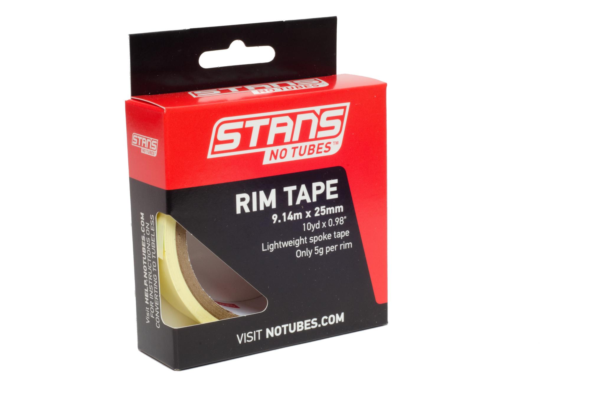 Stans No Tubes Stan's N Tubes, Rim Tape, Yellow, 25mm x 9.14m rll