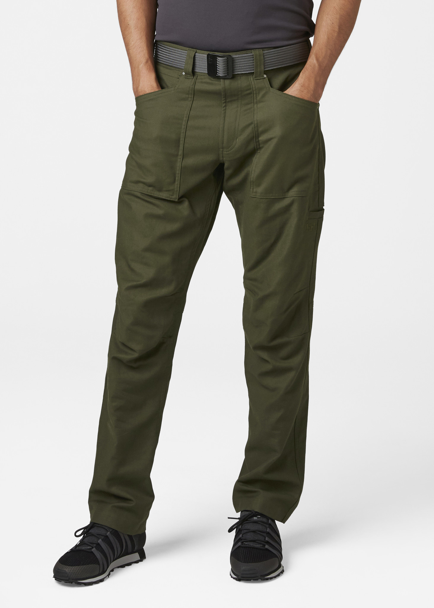 Essential Canvas Pant - Forest