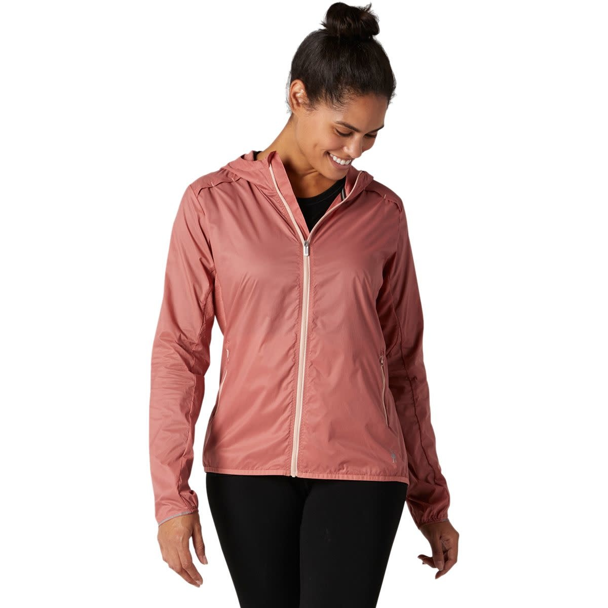 Smartwool Merino Sport UltraLight Hoodie - Canyon Rose
