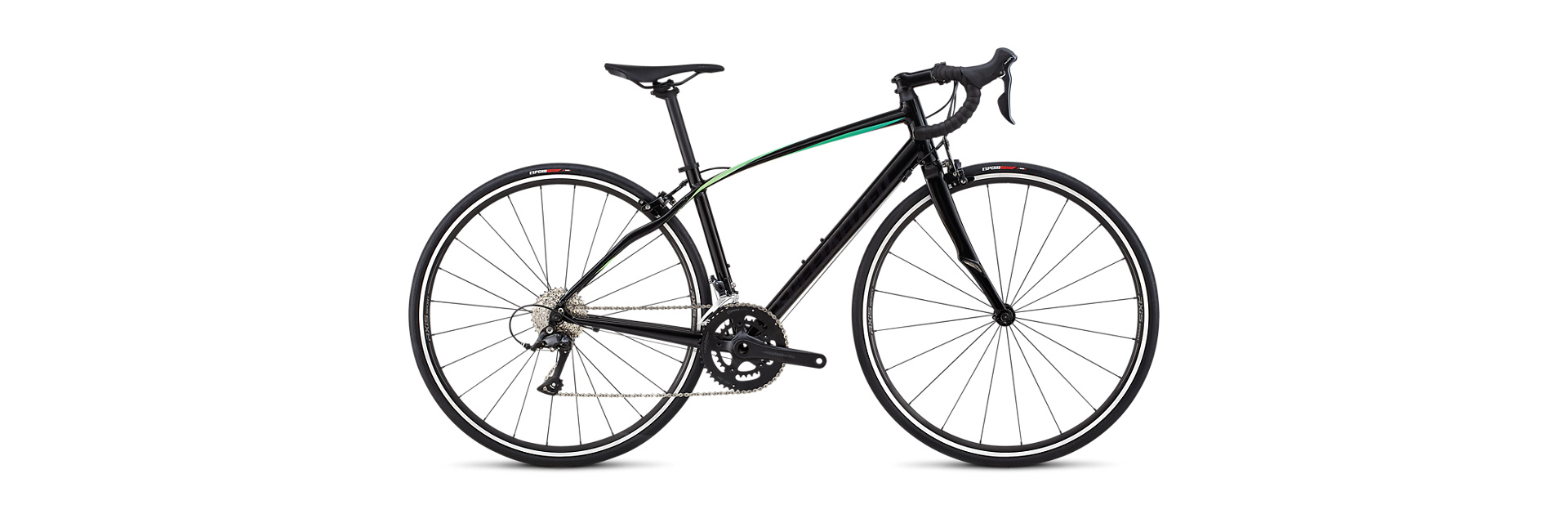 Specialized 18 DOLCE SPORT - Gloss / Satin / Tarmac Black / Cali Fade 48