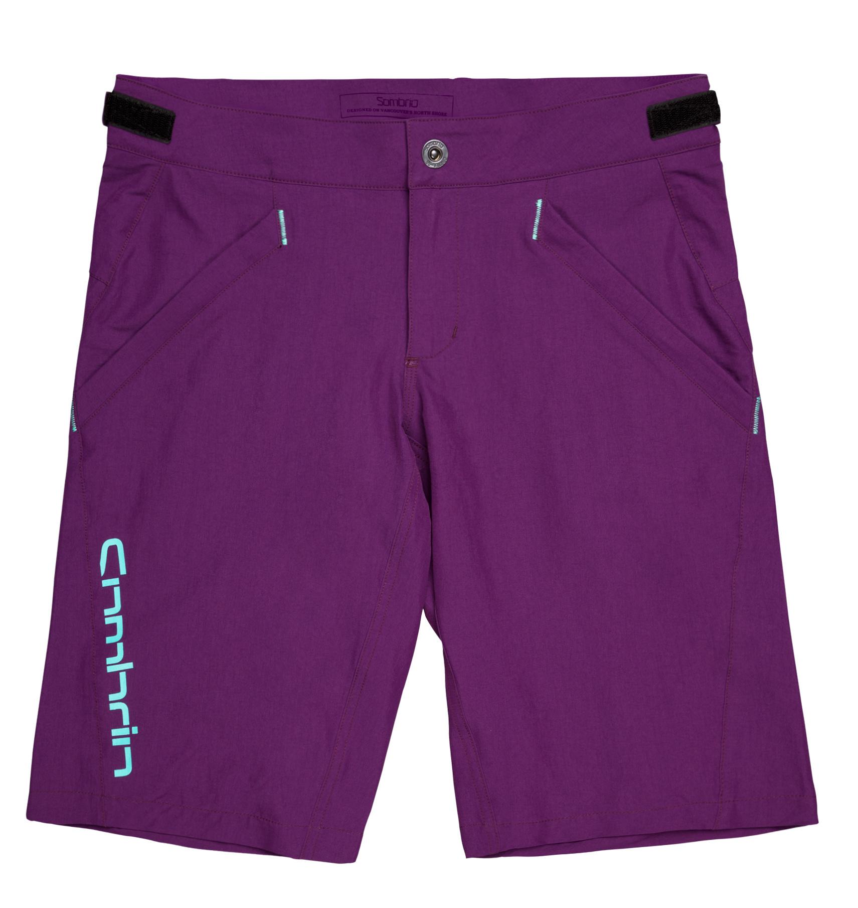 Sombrio V'al Shorts, Grape L