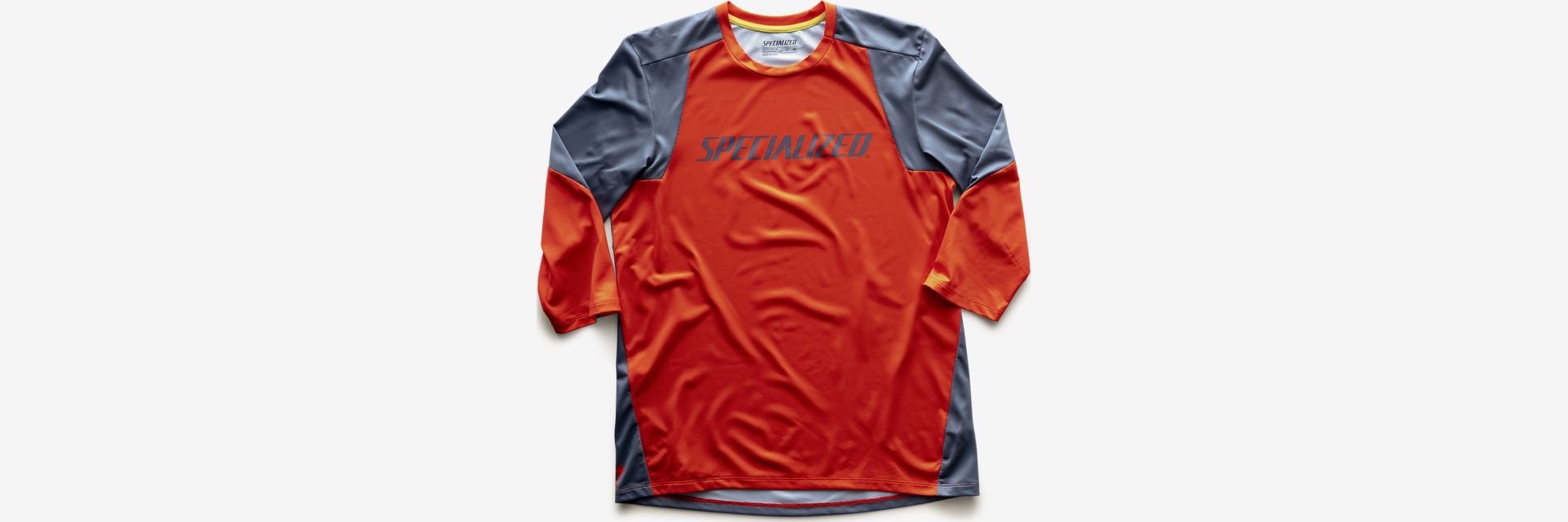 Specialized ENDURO 3/4 JERSEY - Rocket Red/Storm Grey M