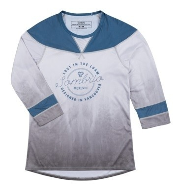 Sombrio Nobel jersey - Grey Tie Die S