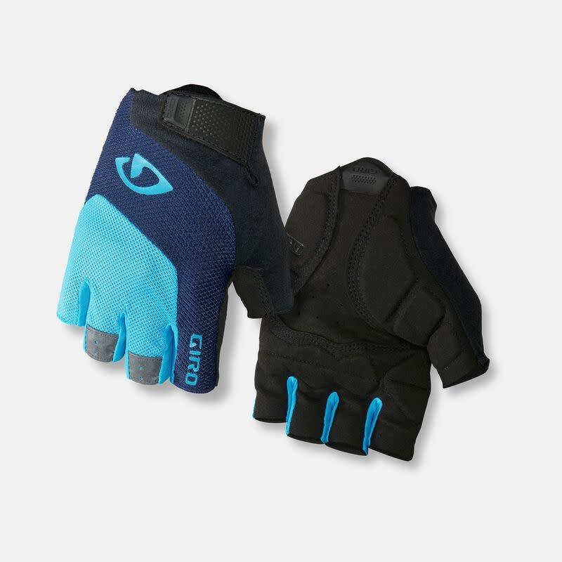 Giro Bravo Gel Short Finger - Blue