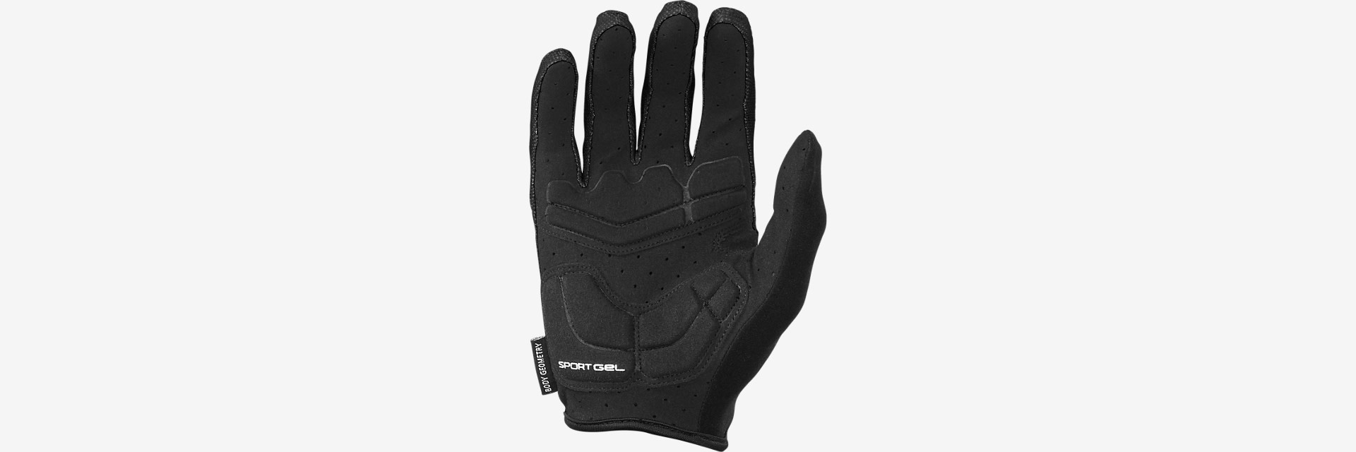 Specialized BG Sport Long Finger - Black