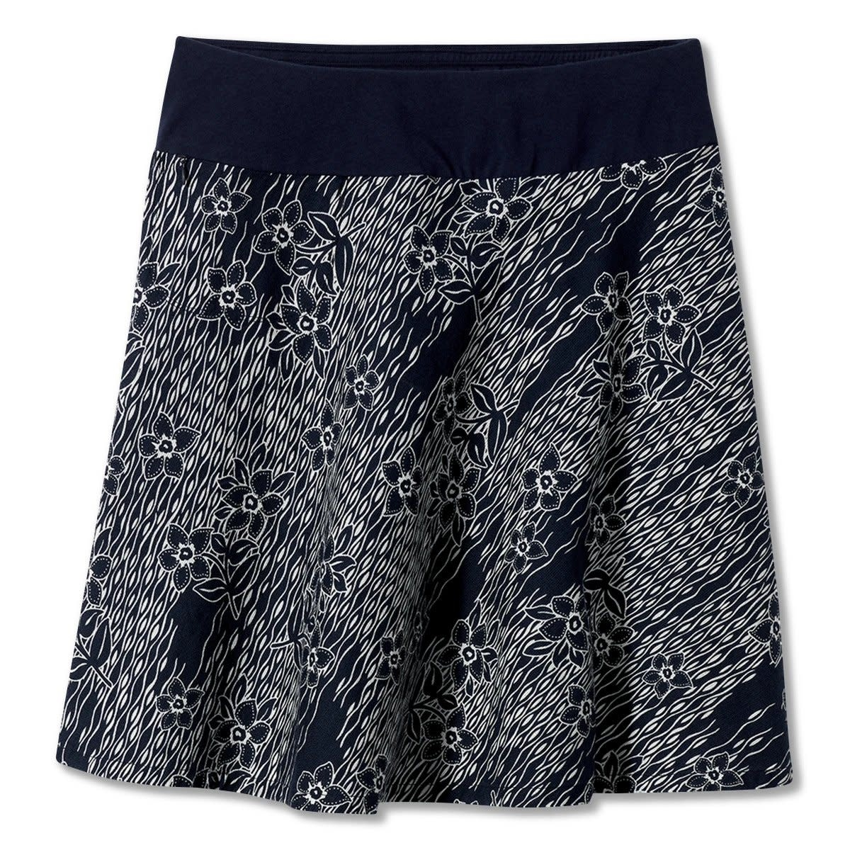 Royal Robbins CoolMesh Eco Skirt - Navy Print