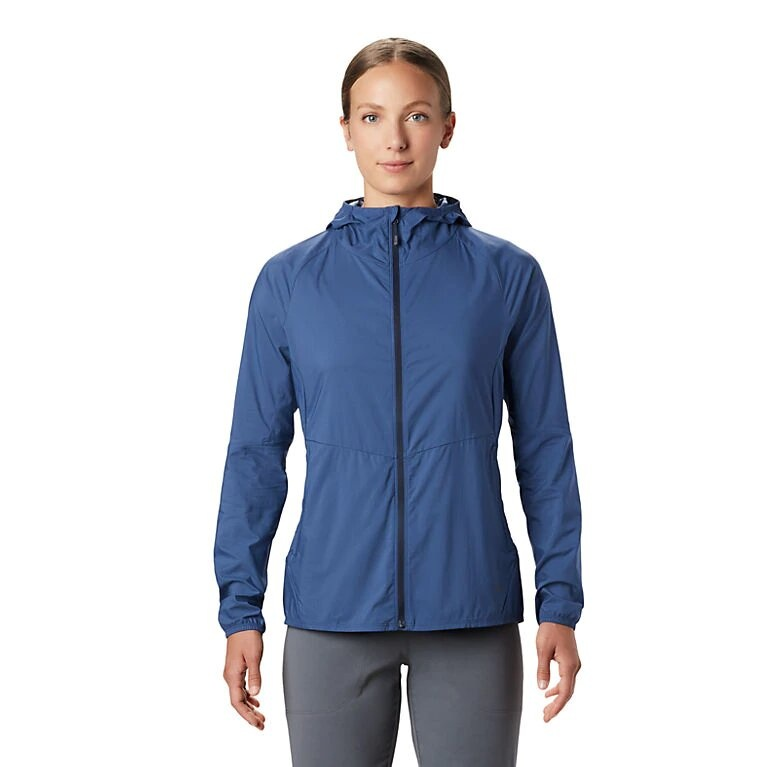 Mountain Hardwear Kor Preshell Jacket - Better Blue