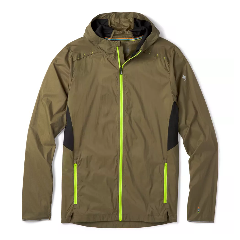 Smartwool Merino Sport Ultra Light Hoodie - MILITARY OLIVE