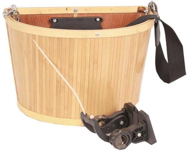 EVO E-Cargo Bamb QR, Front basket