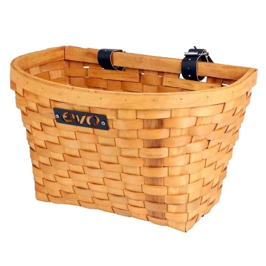 E-Cargo Wood Classic, Front Basket