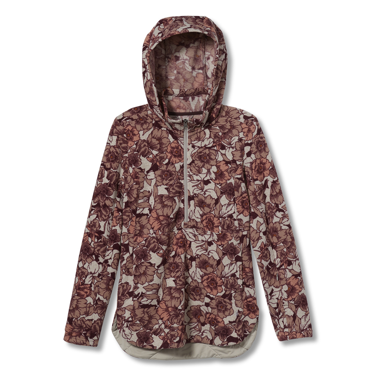 Sentinel Peack 1/2 Zip, Fudge Print