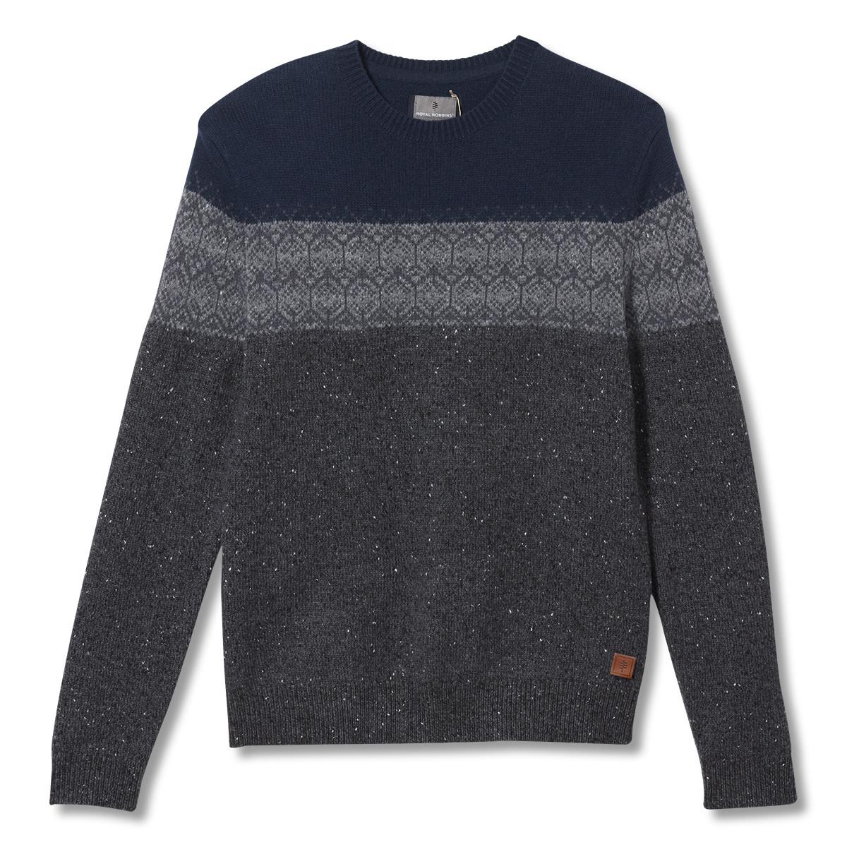 Banff Novelty Sweater, Charcoal