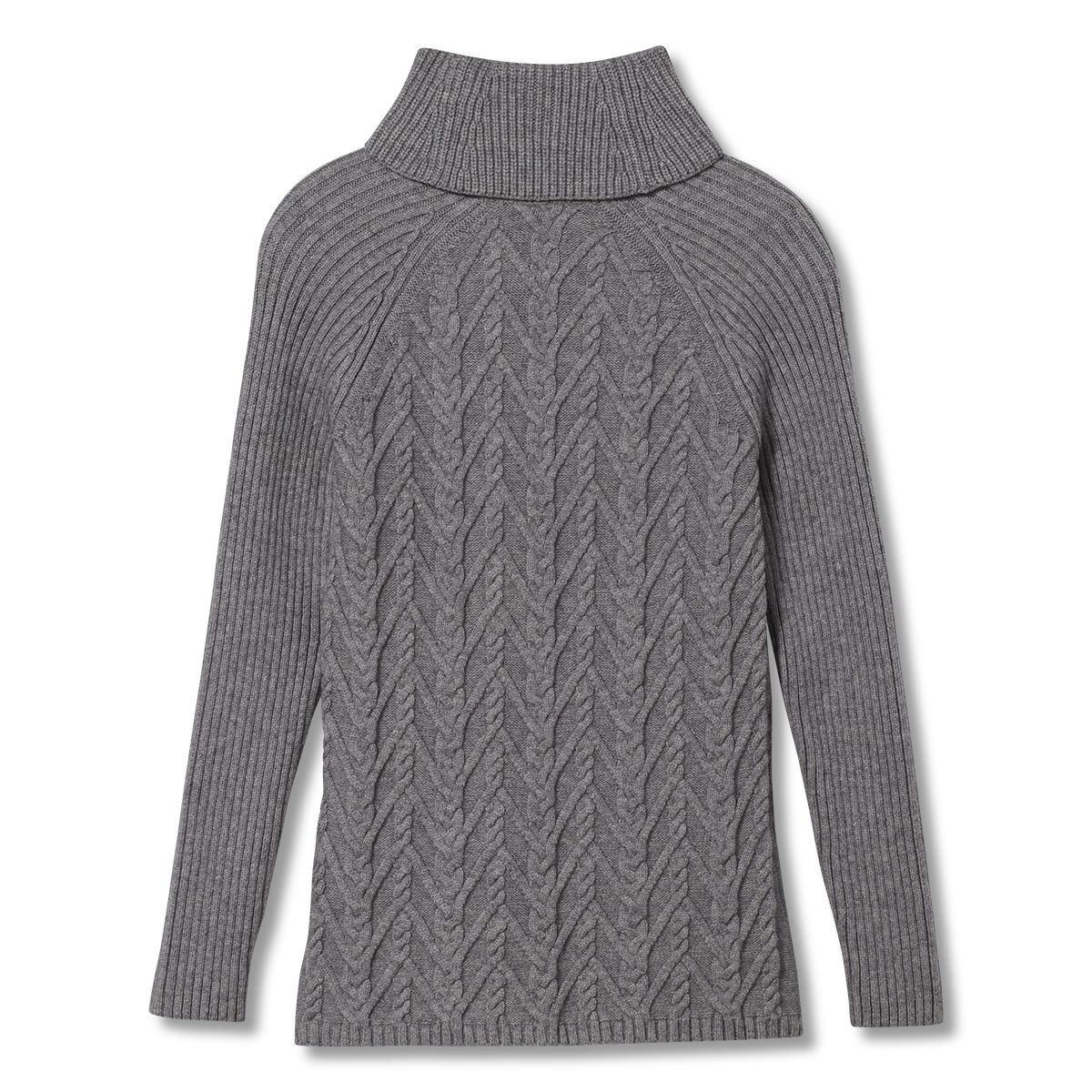 Royal Robbins Frost Cowl Neck, Pewter Heather
