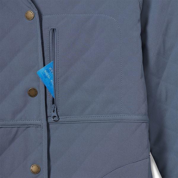 Shadowquilt Reversble Jacket, Sea