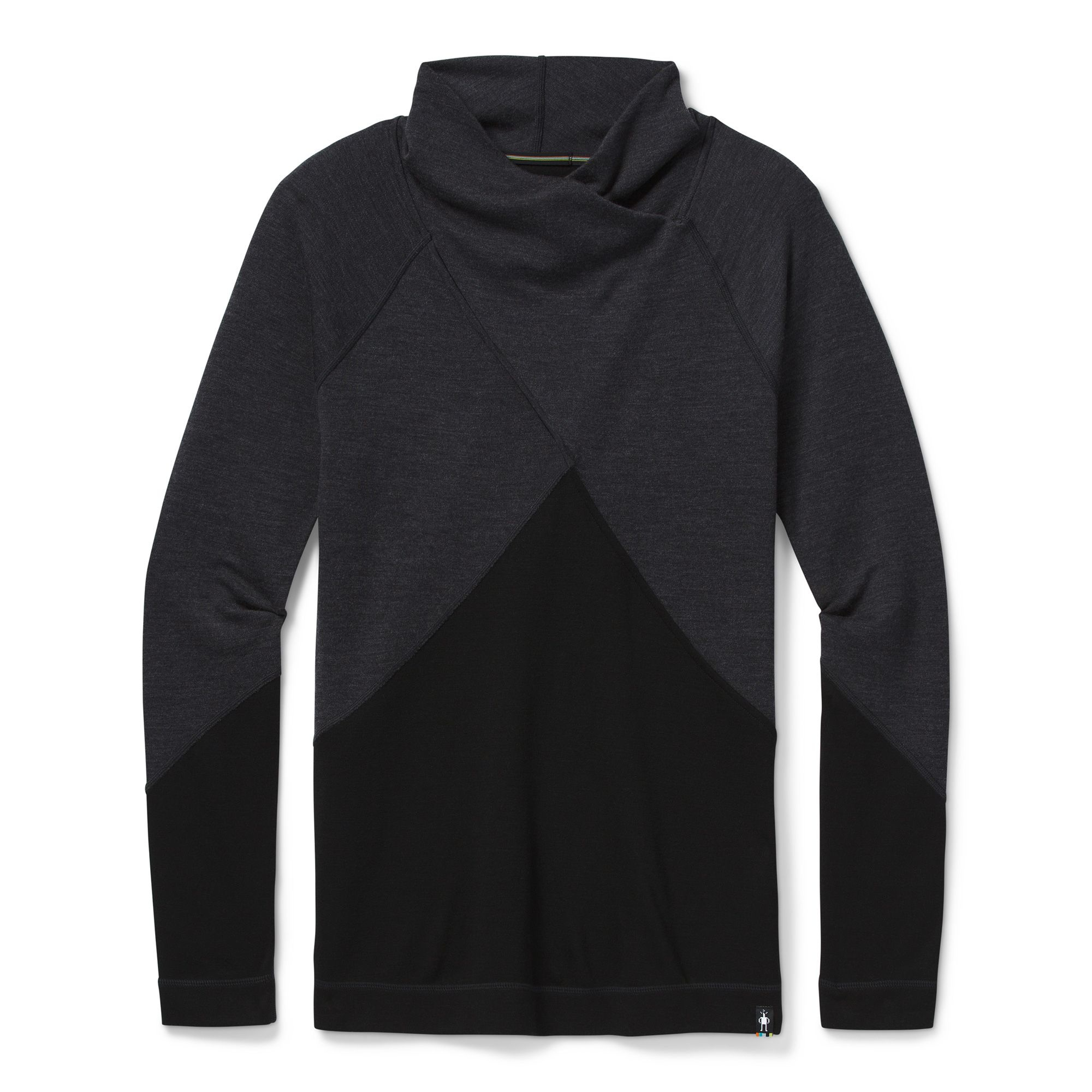Smartwool Merino 250 Crossover Neck, Charcoal