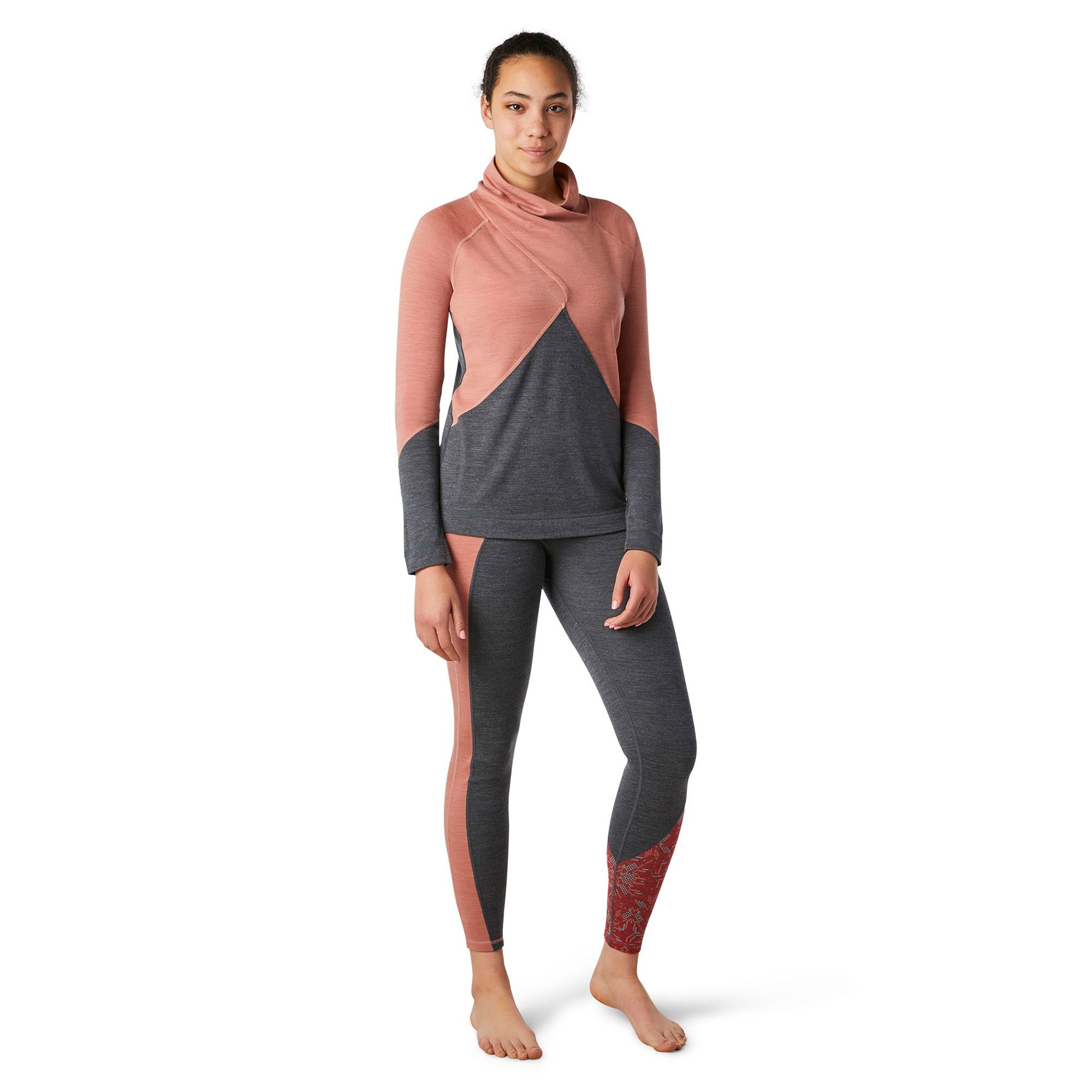 Smartwool Merino 250 Crossover Neck, Canyon Rose