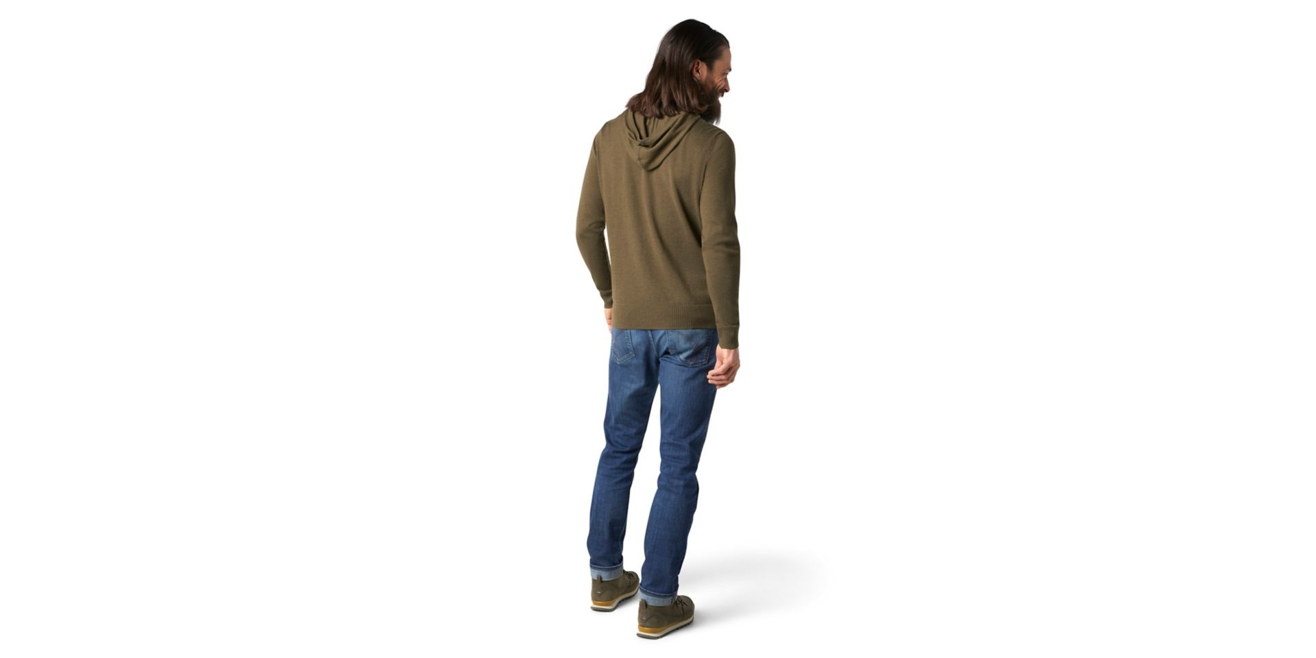 Sparwood Hoodie Sweater, Military Olive