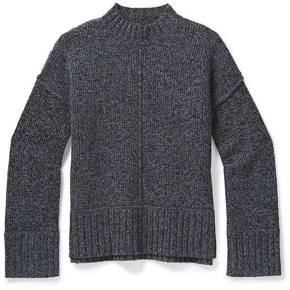 Smartwool Bell Meadiw Sweater, Gray Heather