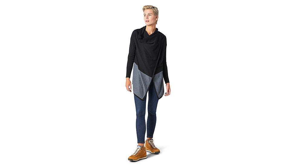 Smartwool Edgewood Wrap Sweater, Black