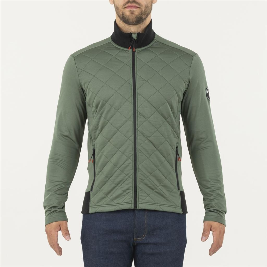 Myrene Quilted Full Zip, Olive