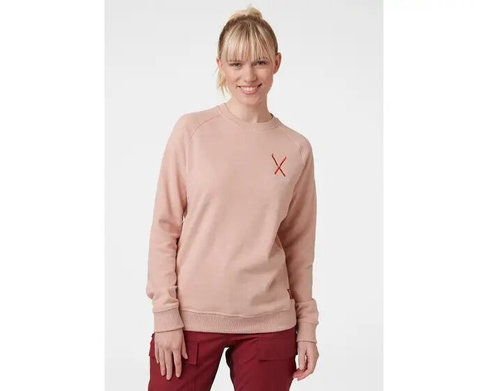 F2F Cotton Sweater, Misty Rose