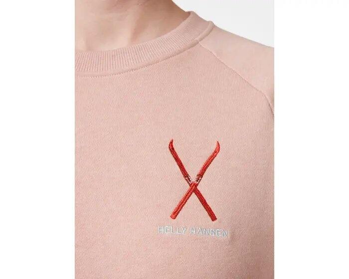 Helly Hansen F2F Cotton Sweater, Misty Rose