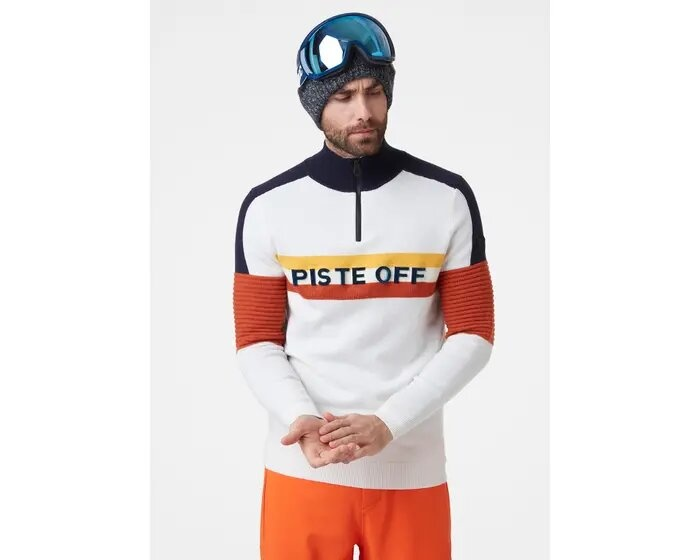 Helly Hansen Tricolour Knitted Sweater