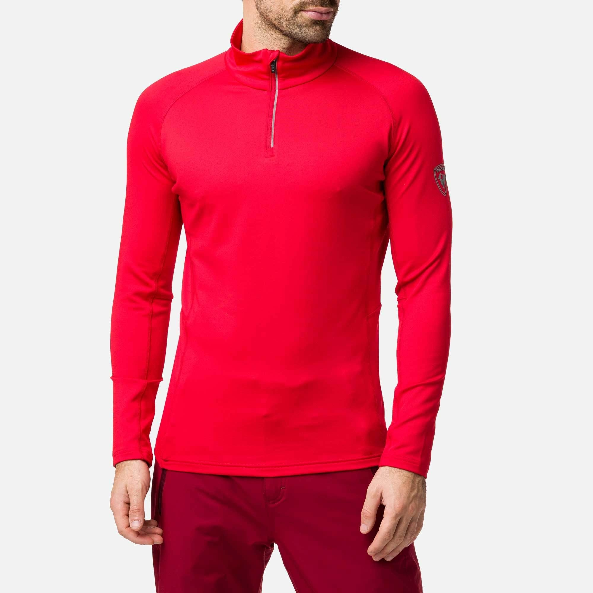 Classique 1/2 Zip, Sports Red