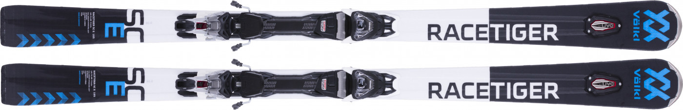 Racetiger SC Carbon 165, With Binding