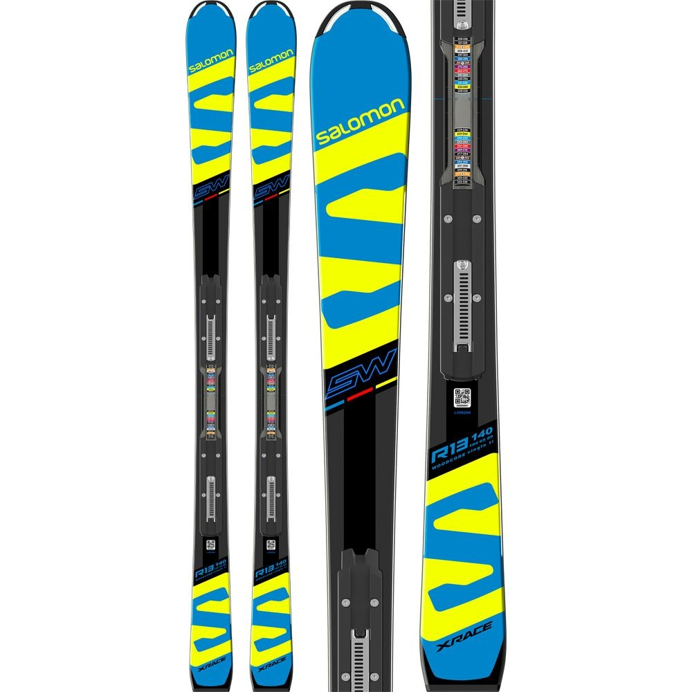 X Race Jr SW 140, With Binding