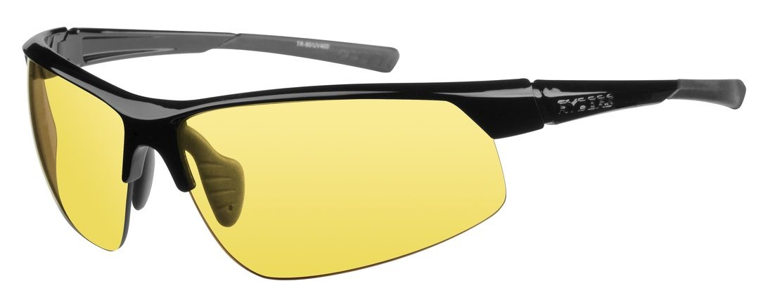 SABER POLY BLACK / YELLOW LENS