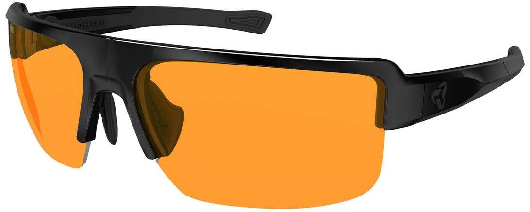 SEVENTH POLY BLACK / ORANGE LENS