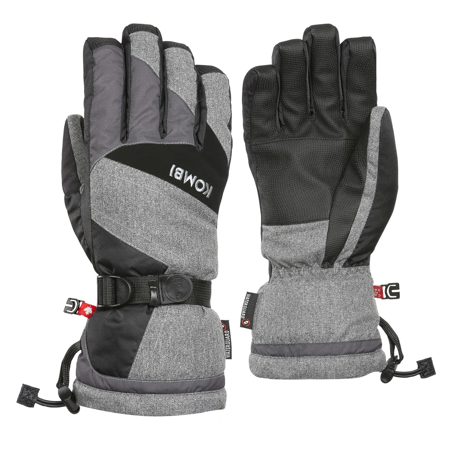 The Original Men's Glove, Grey Melange