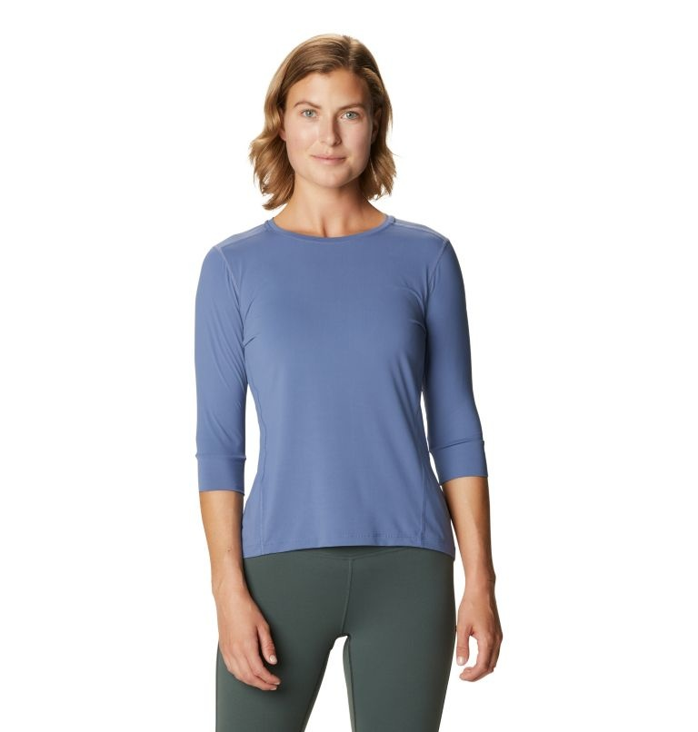 Crater Lake 3/4 Shirt, Northern Blue