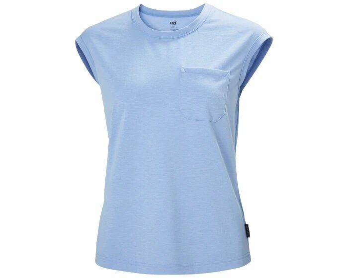W Dalen Recycled Top, Blue