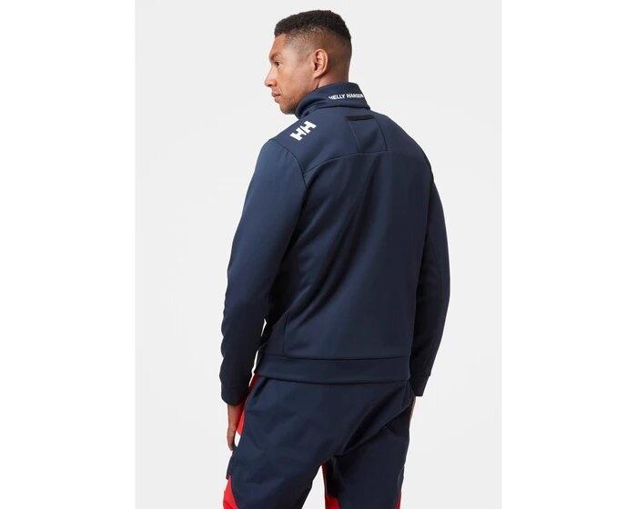Crew Fleece Jacket, Navy
