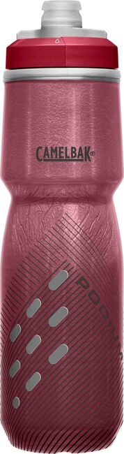 PODIUM CHILL 24OZ BURGUNDY PERFORATED