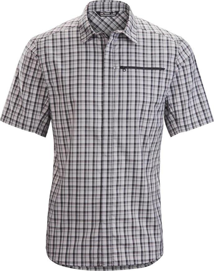 Kaslo SS Shirt, Binary Pixle
