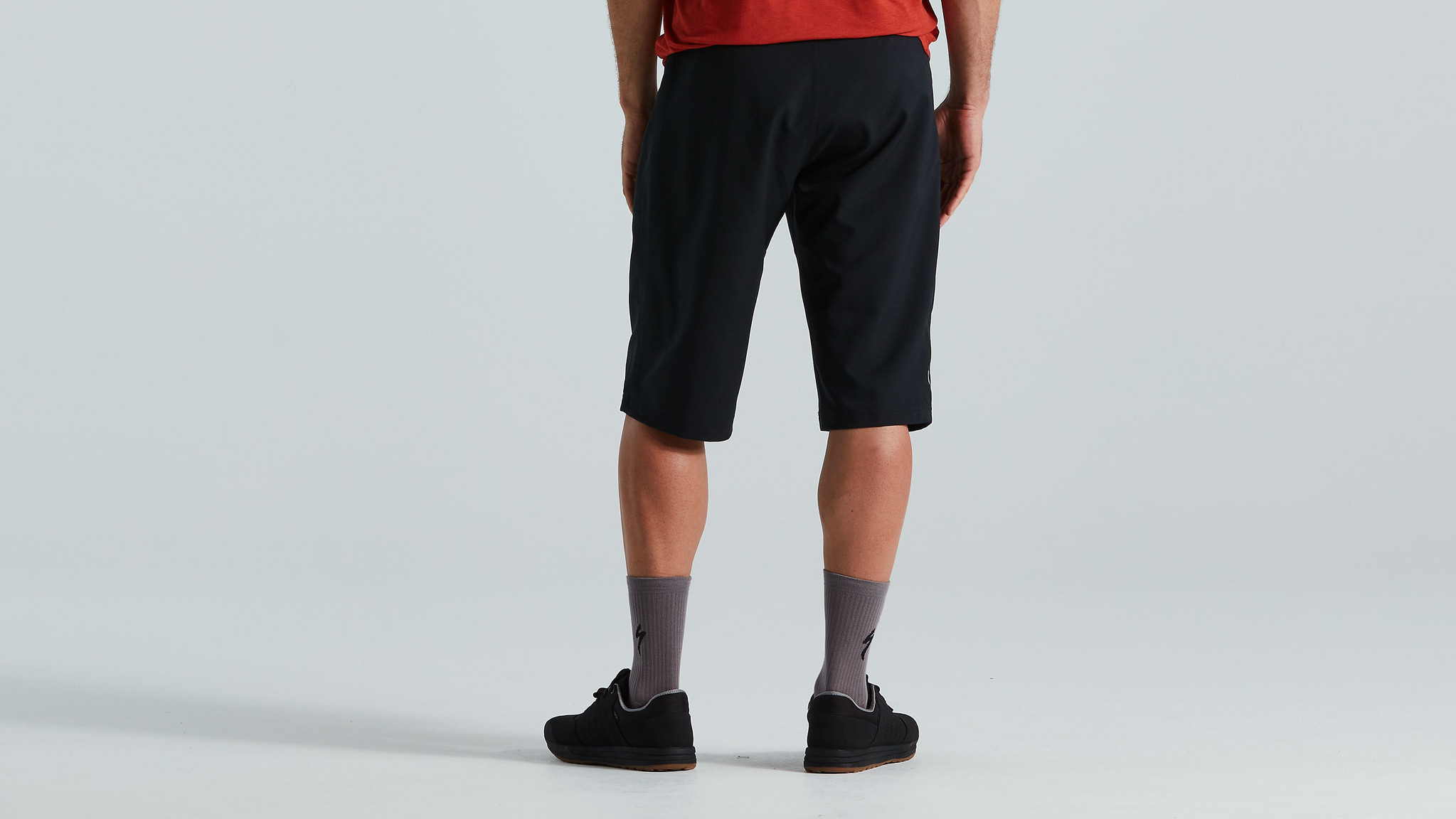 Trail Short with Liner, Black