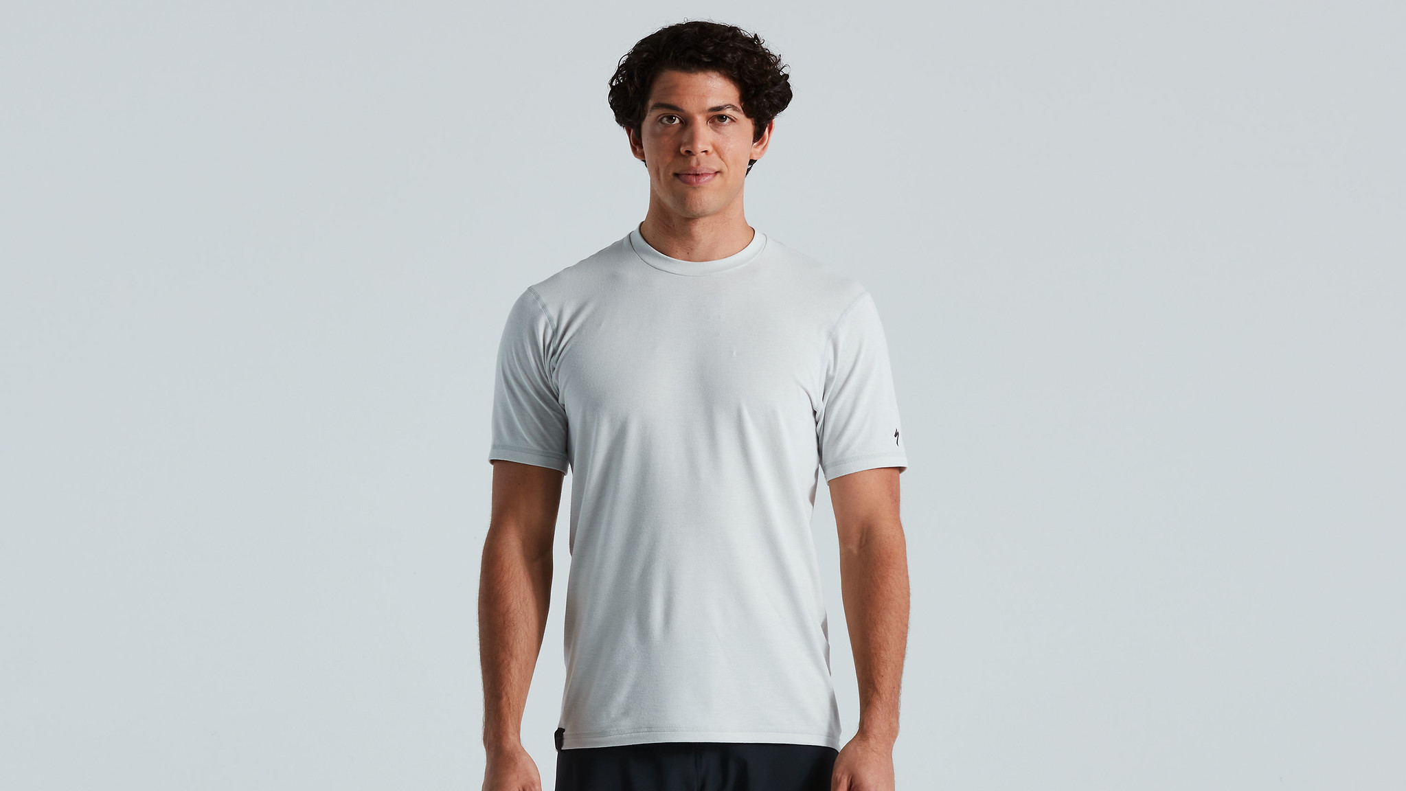 Trail Jersey SS, Dove grey