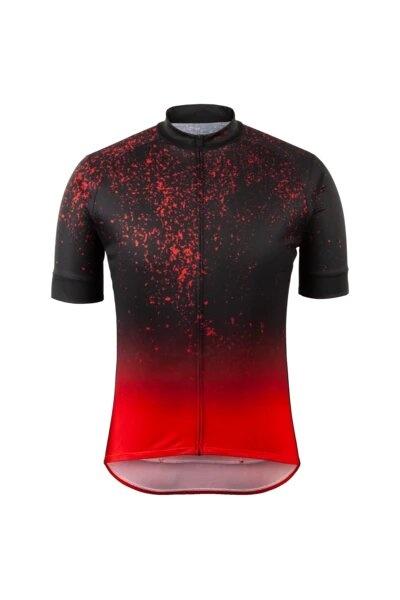Evolution Zap Jersey, Dark Red Sky