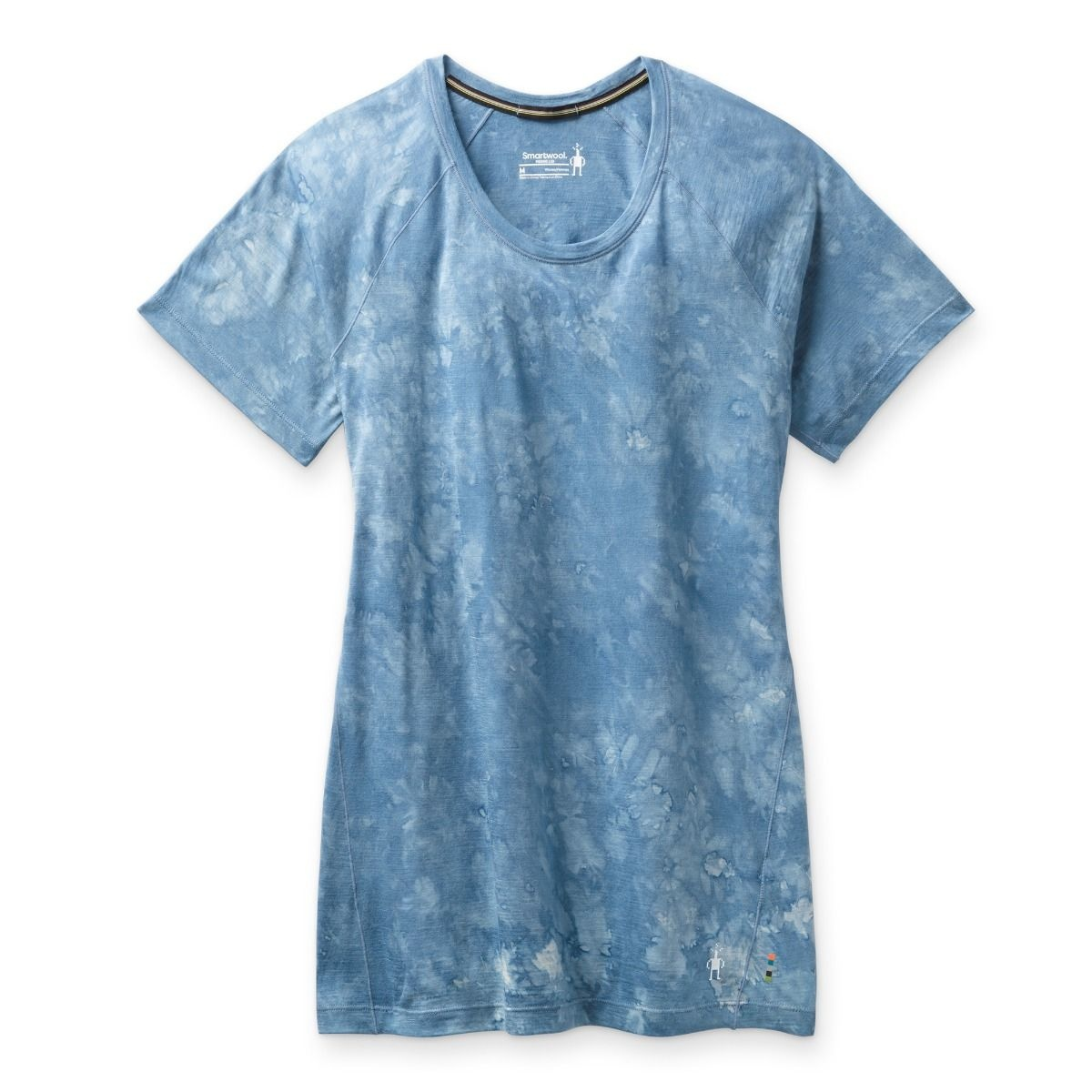 W Merino 150 SS, Blue Wash