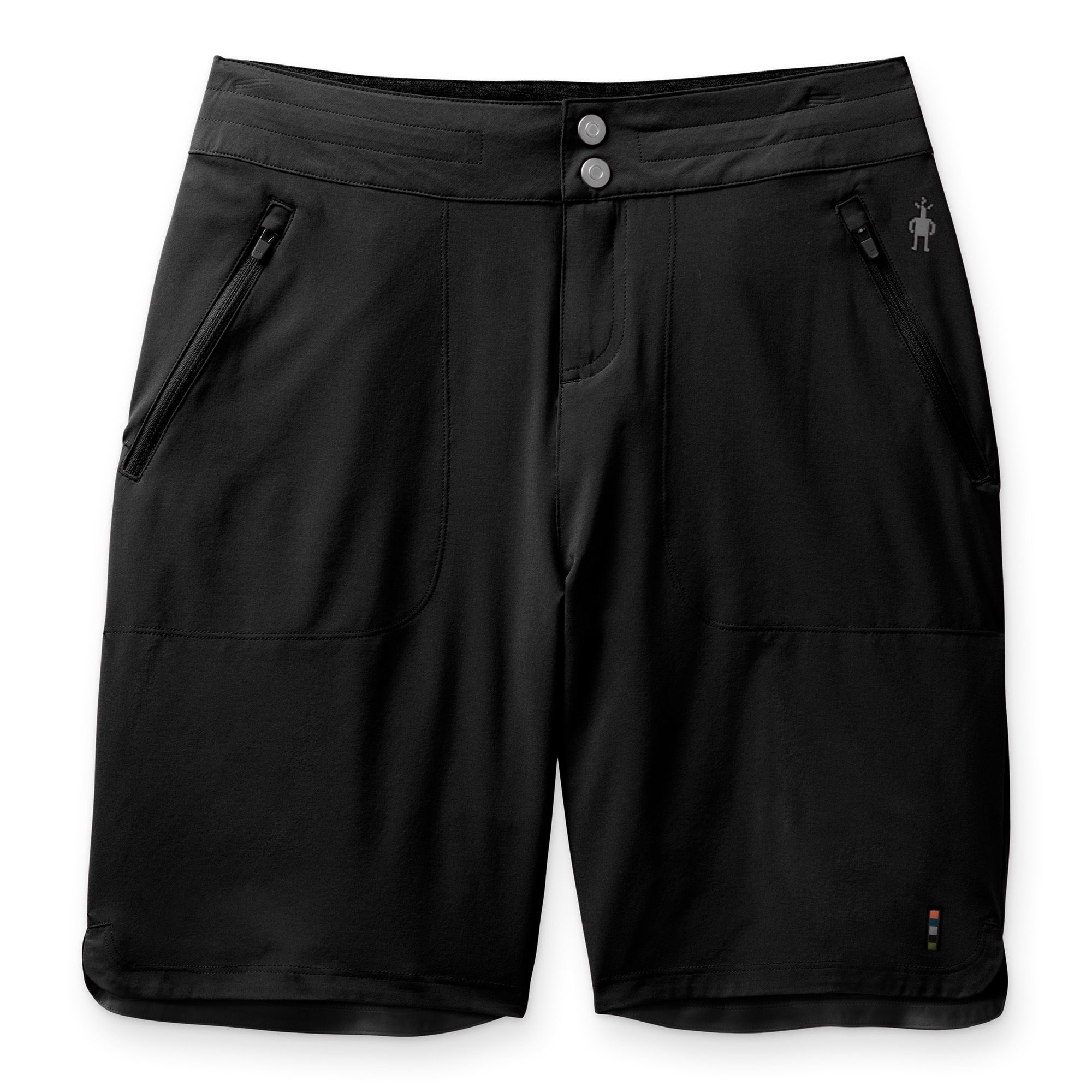 "W Merino Sport 9"" Short, Black"