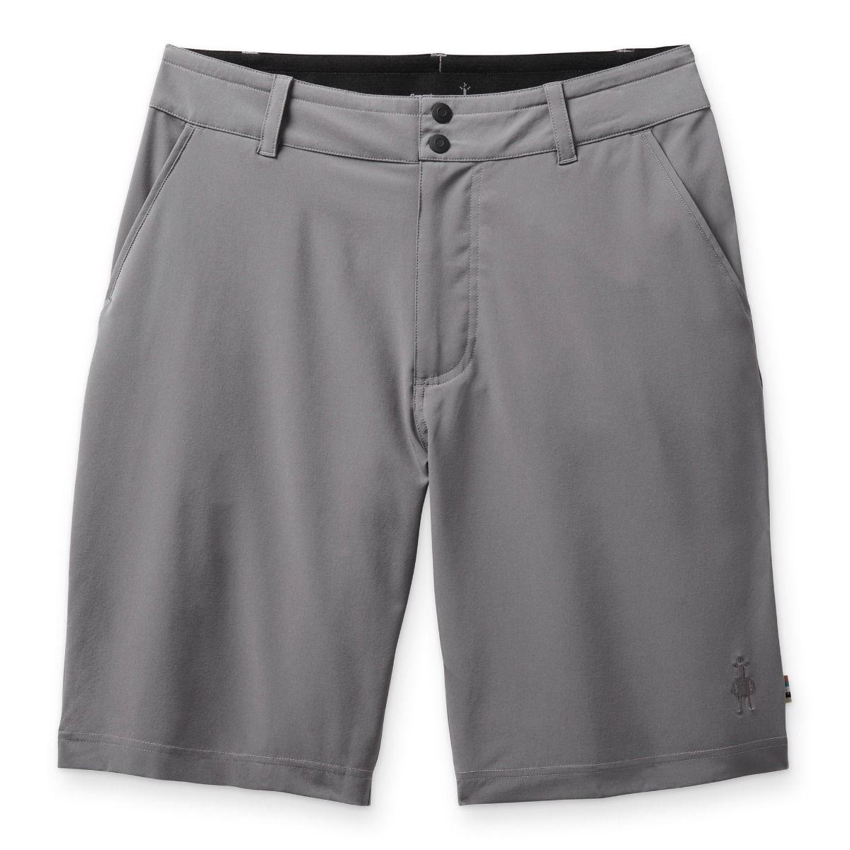 """Merino Sport 10"""" Short, Grey"""