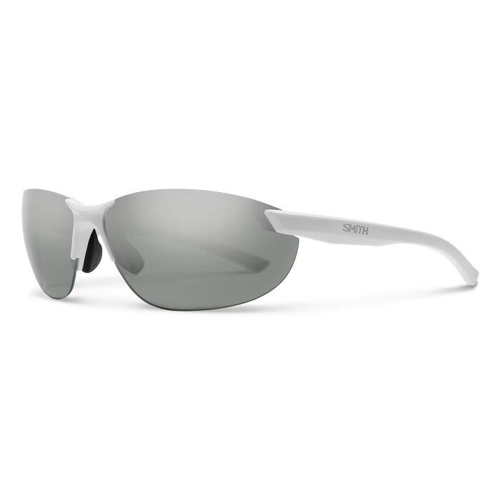 Smith Optics Parallel 2, Matte White- Polarized Platinum Mirror/Ignitor