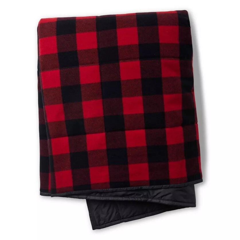 Anchor Line Blanket, Crimson