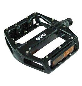 EVO MX-6 Platform pedals, Removable pins, Black